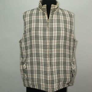 Burberry Reversible Puffer Vest XL